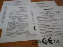 Standardowe certyfikaty i deklaracje